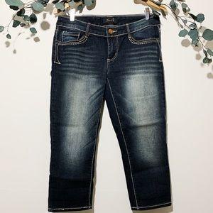 Silver Jeans Capri sz 8